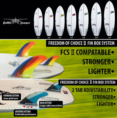 Lib Tech Puddle Jumper HP by Lost Surfboard 5'6