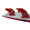 SurfCo Hawaii Super Flex Fin SUP Quad Set - Futures