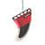 Air Freshener Fin Classic Red