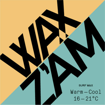 WAX Z'AM Surf Wax Warm-Cool 16-21°C