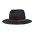 Brixton Leighton Fedora Hut Black/Brown
