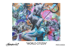 "MOMENT - ""WORLD CITIZEN"" POSTER BY PRIYA HANDA"