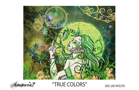 "MOMENT - ""TRUE COLORS"" POSTER BY DEE JAE PA'ESTE"