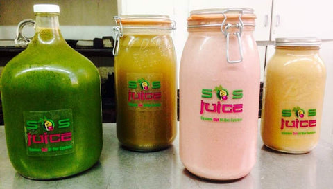 Fresh SOS juice delivered to your door daily (Bay Area only)