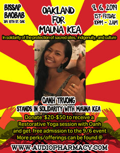 $20-$50 Donation - 1 hour restorative Yoga session with Oanh T.