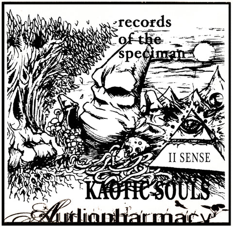 II Sense (Teao and Sef aka Zygoat of Kaotic Souls) - Records of the Speciman (1997-99)