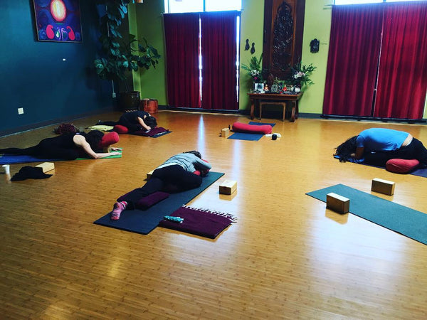 Restorative Yoga with Oanh T. (Inquire for availability during Shelter in Place)