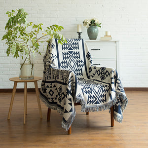 Geometric Storyteller Throw