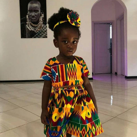 Kids Dashiki Dress