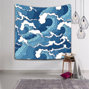 """The Sea"" inspired by Katsushika Hokusai"