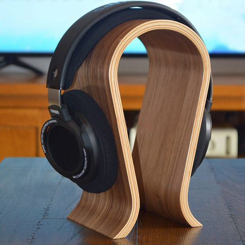 All Wood Headphone Rest