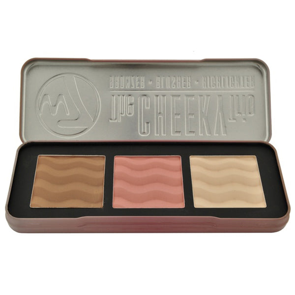 W7 The Cheeky Trio with Bronzer/Blusher/and Highlighter (1- or 2-Pack) - Dirty girl cosmetics