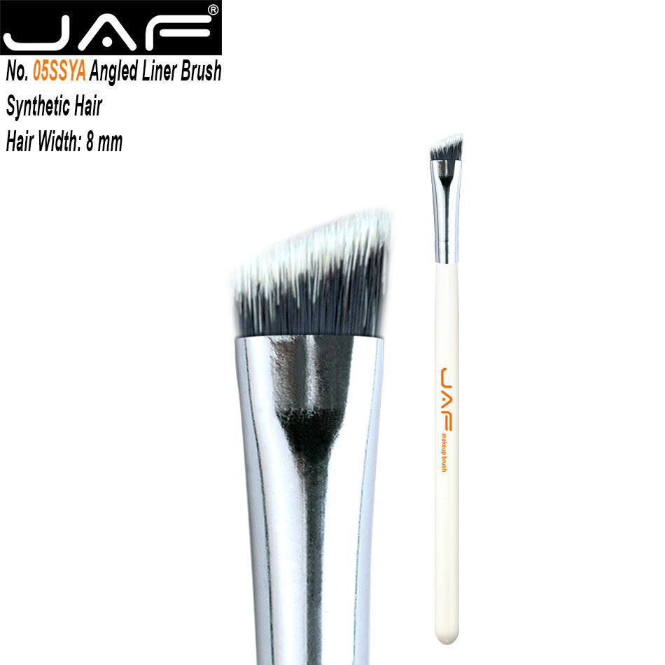 JAF Angled Eyeliner Brush  Multipurpose Makeup Brushes Professional Eco-friendly Synthetic Hair eyebrow - Dirty girl cosmetics
