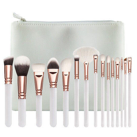 """I DO"" Bridal Brush Set - Dirty girl cosmetics"