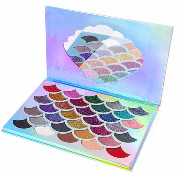 The Mermaid Glitter Palette - Dirty girl cosmetics