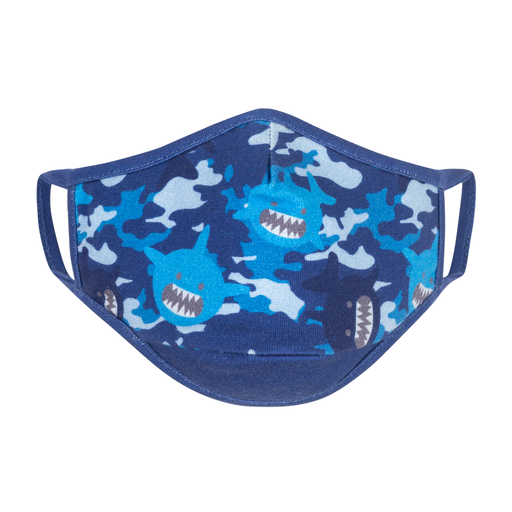 Reusable Face Mask 3 Pack Shark