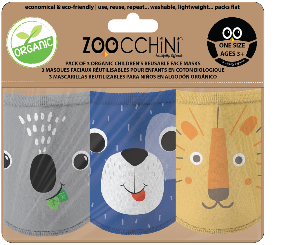 Reusable Face Mask 3 Pack Dog