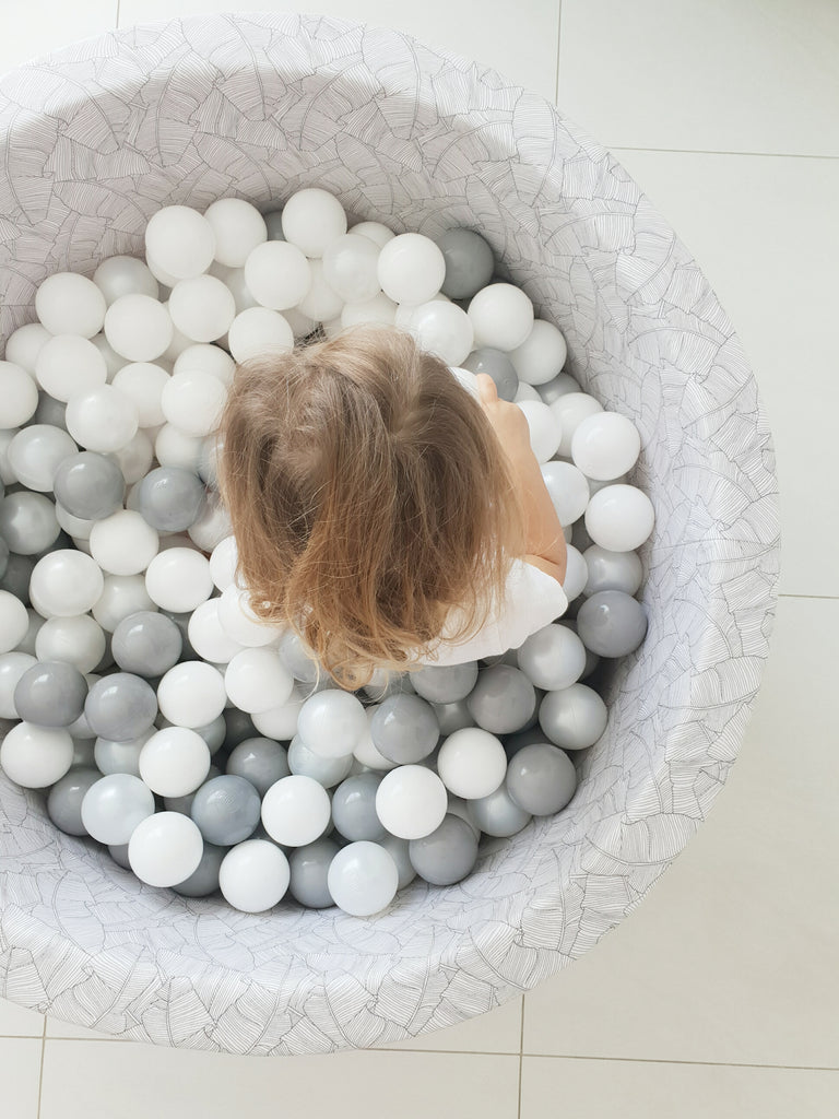 Patterned Ball Pit + Balls