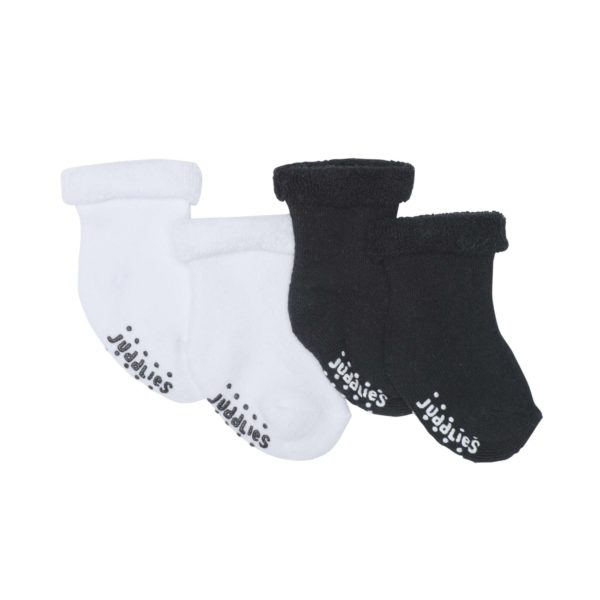 2 pack Infant Socks - Black & White