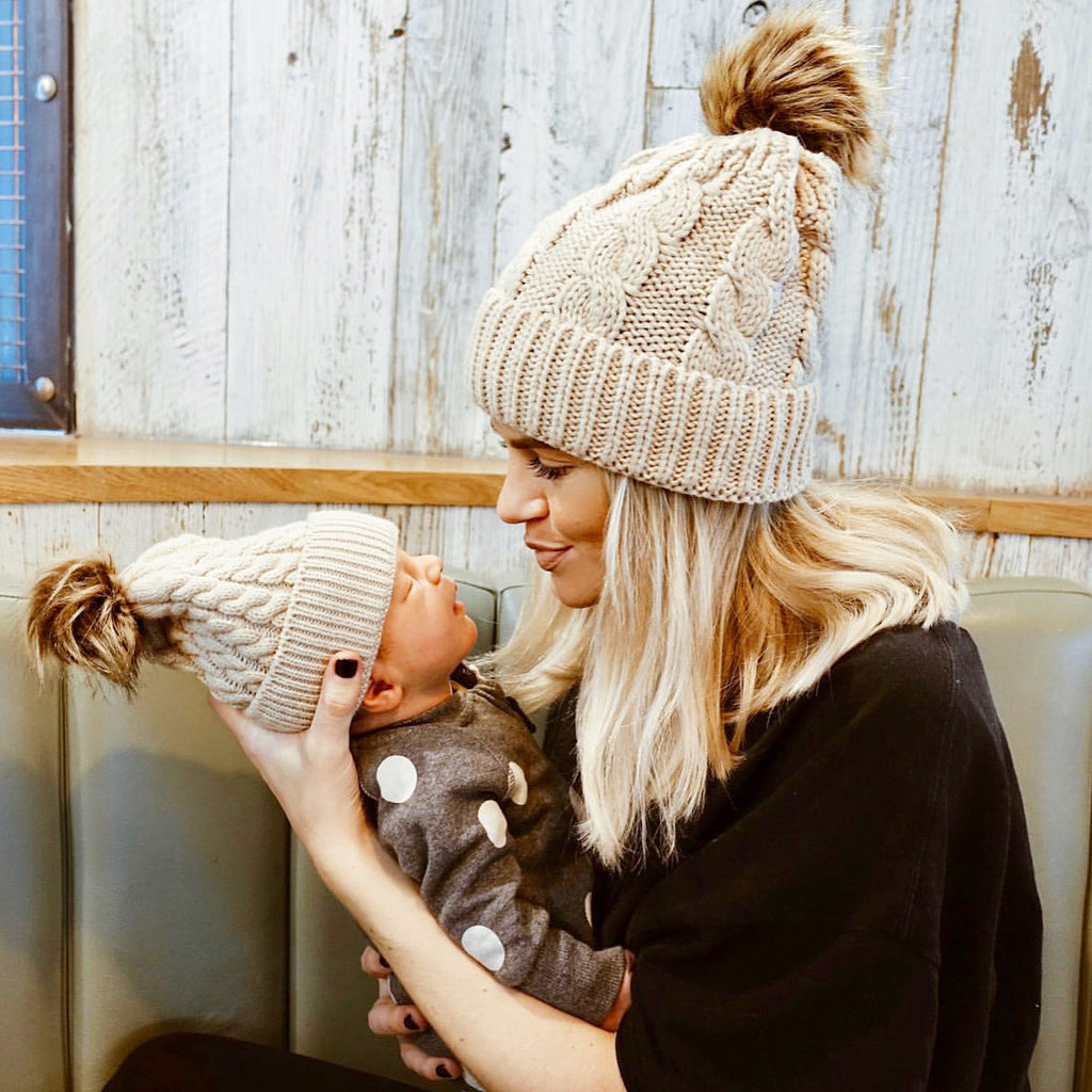Matching Bobble Hats