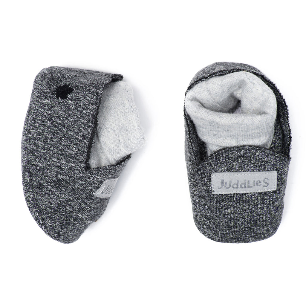 Organic Raglan Slipper - Graphite Black