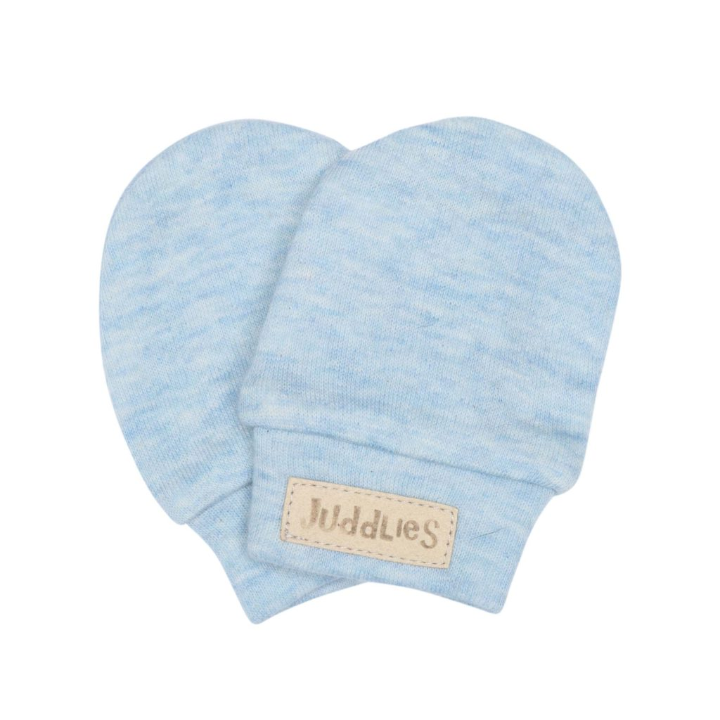 Scratch Mitts - Blue Fleck