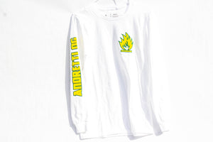 Andretti OG Long Sleeve Crew Tee - White