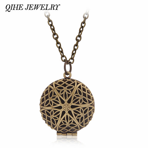 Wishing Box Pendant Round Shape