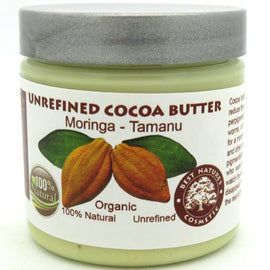 Unrefined Cocoa Moringa Tamanu Oils Blend 4oz / 120 ml