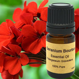 Geranium Essential Oil (Bourbon)