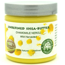 Unrefined Chamomile Neroli Shea Butter 4oz / 120 ml