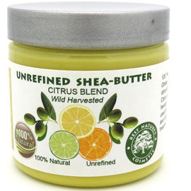 Unrefined Shea Citrus Butter Blend 4oz / 120ml