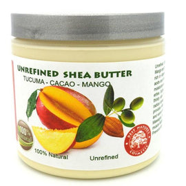 Shea Cocoa Tucuma Mango Butter Blend 4oz / 120ml