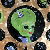 """Leelu the Alien"" Original Painting"