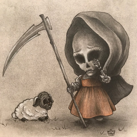 """Lil Bo Reaper"" Original Drawing"