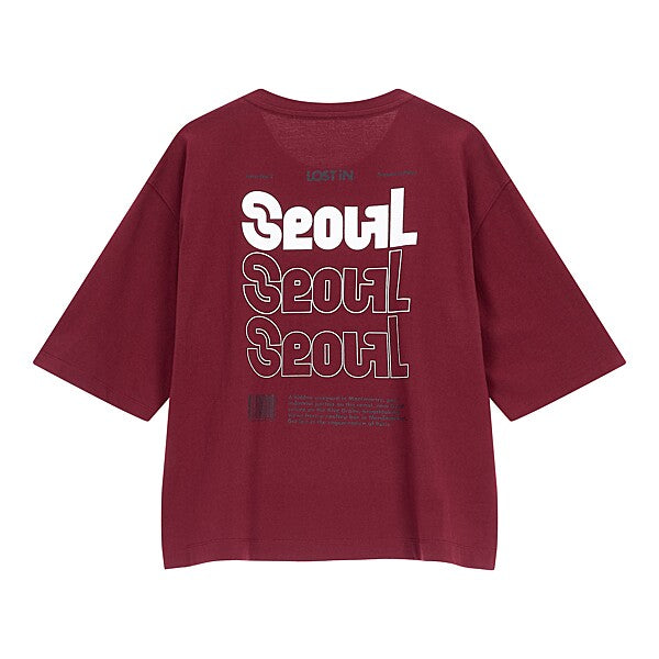 LOST iN Seoul t-shirt