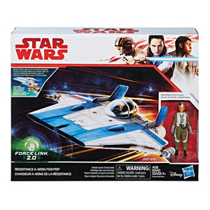 Star Wars: The Last Jedi Resistance A-Wing Fighter Force Link 2.0