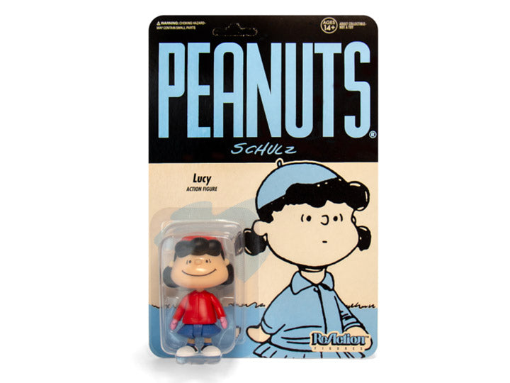 Peanuts ReAction Winter Lucy SDCC 2019 Exclusive Figure