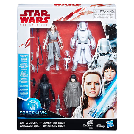 Star Wars: The Last Jedi Figure 3.75 Orange Wave 1 Luke Skywalker (Jedi Master)