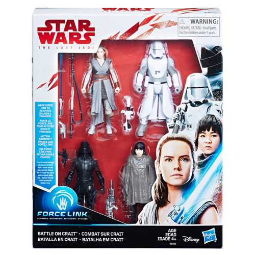 Star Wars: The Last Jedi  3.75 Battle on Crait 4-Pack