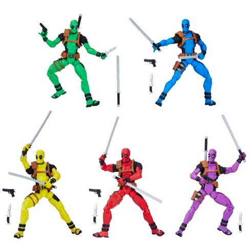 PRE-ORDER Marvel Legends Deadpool's Rainbow Squad 5-Pack 3 3/4-Inch Action Figures