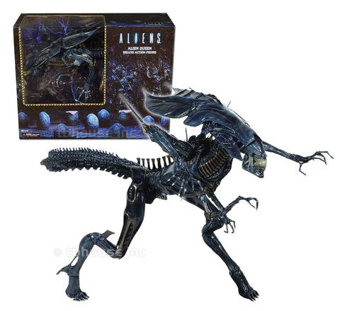 "Aliens 15"" inch Xenomorph Queen Ultra Deluxe Boxed Action Figure"