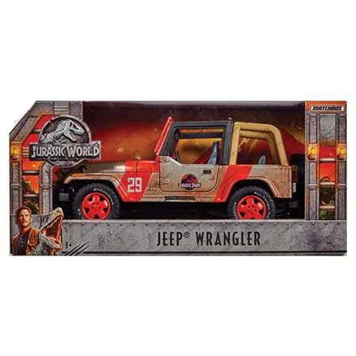 PRE-ORDER Jurassic World: Fallen Kingdom Jeep 1:18 Die-Cast Vehicle