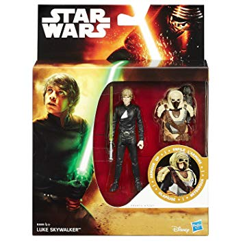 "Star Wars The Force Awakens Armour Up - Luke Skywalker 3.75"" Action Figure"