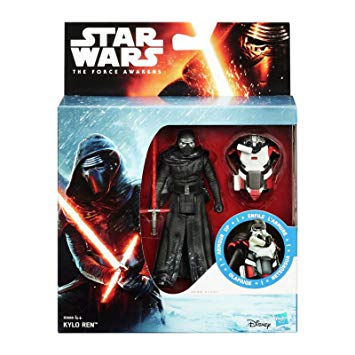 "Star Wars The Force Awakens Armour Up Kylo Ren 3.75"" Action Figure"