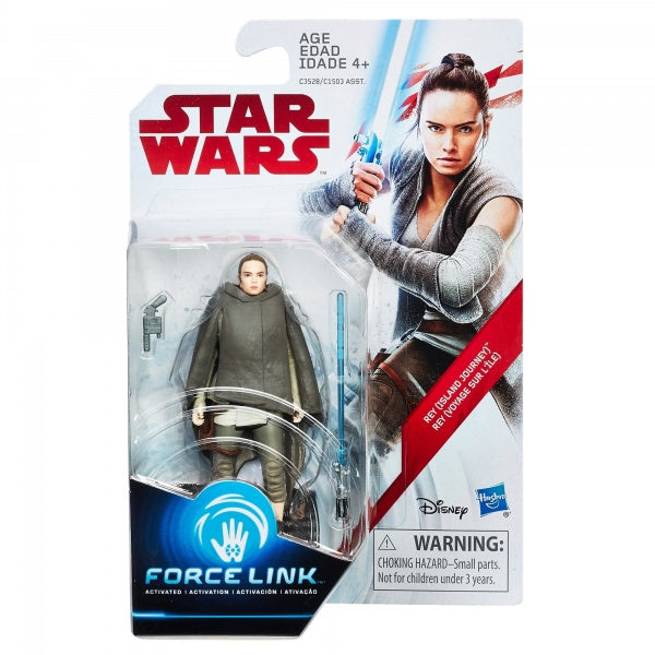Star Wars: The Last Jedi Figure 3.75 Orange Wave 2 Rey (Island Journey)