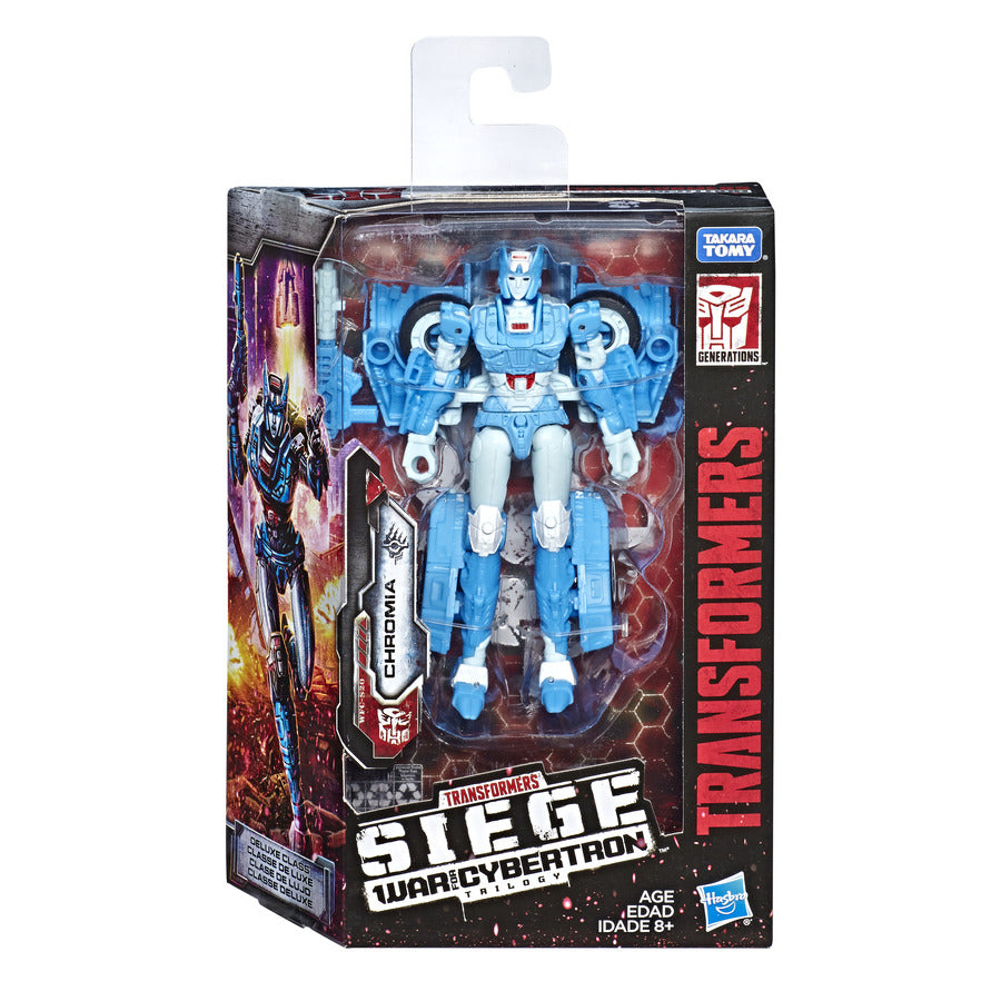 Transformers Generations War for Cybertron Siege Deluxe Chromia Wave 2