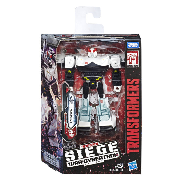 Transformers Generations War for Cybertron Siege Deluxe Prowl Wave 2