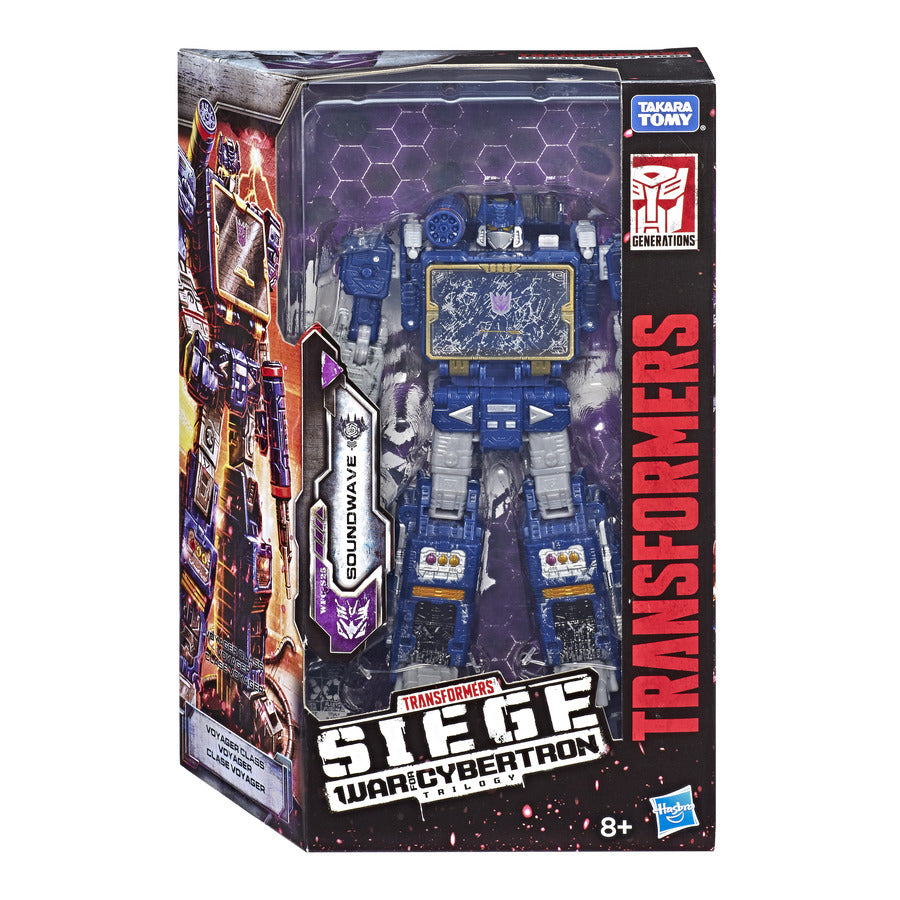 Transformers Generations War for Cybertron Siege Voyager Soundwave Wave 2