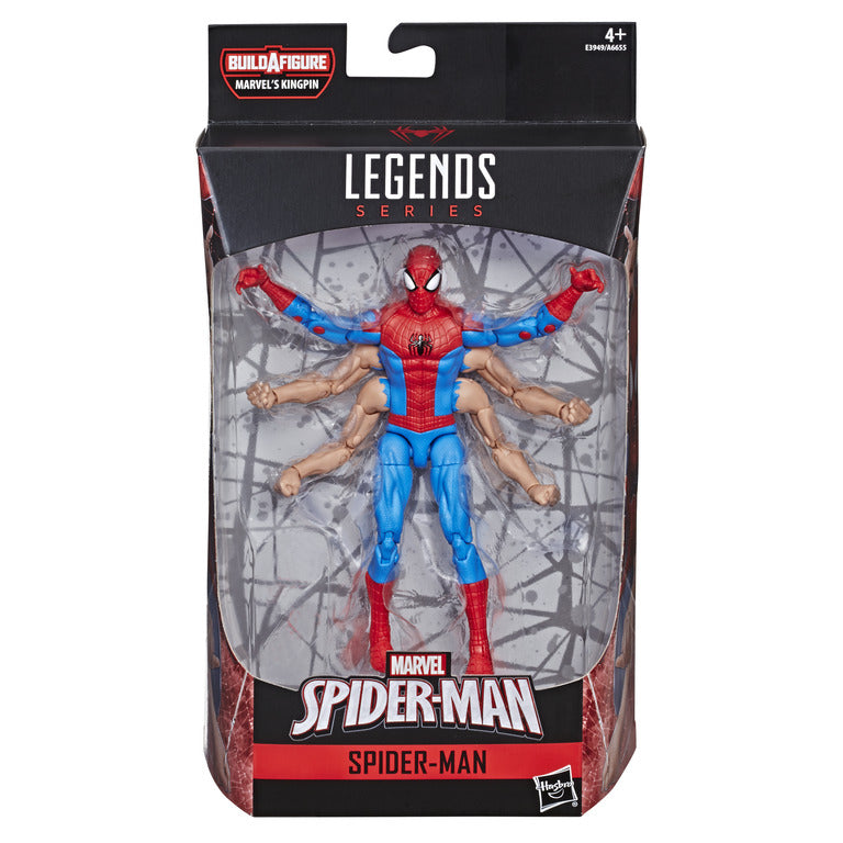Spider-Man Marvel Legends Action Figure Spider-Man